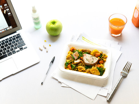 Food is a big deal at work. Here's how the pandemic will change lunch and snacks