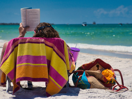 Never Read on the Beach (and other tips for a Book Vacation)