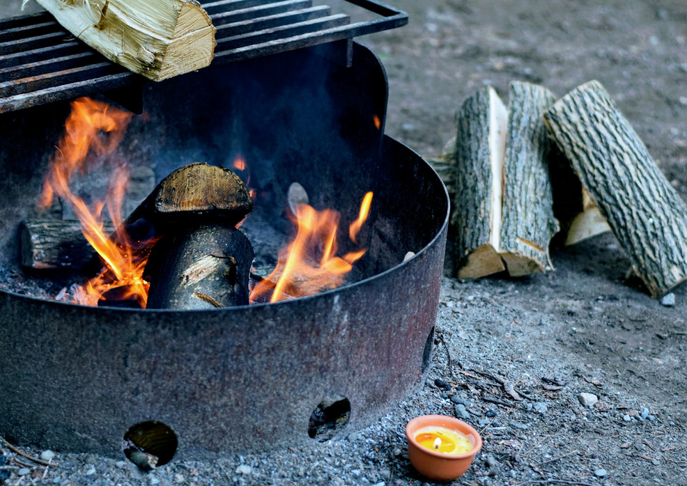 Fire Pit & Barbeque