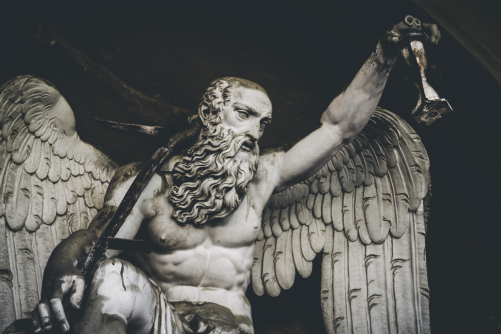 Angel Statue, Cimitero Monumentale of Bologna, Bologna, Italy, Photo: Luigi Boccardo, Unsplash