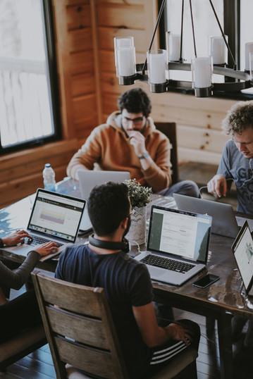 Coworking ermöglicht Austausch