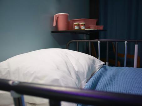 How do you get a hospital bed?