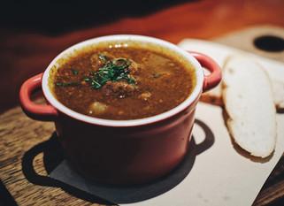 Chef Gianluca Deiana Abis: Minestrone Soup (Fast Version)