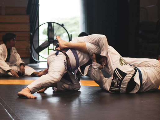 BJJ Report: Just Keep Showing Up Bro?