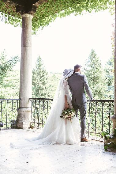 Happy Couple at Micro Wedding