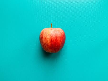Come manzana y protegerás tus dientes