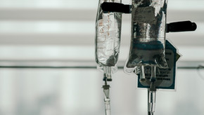 Intravenous Chemo Round 3 of 16 of Adriamycin and Cytoxan (AC Chemo)