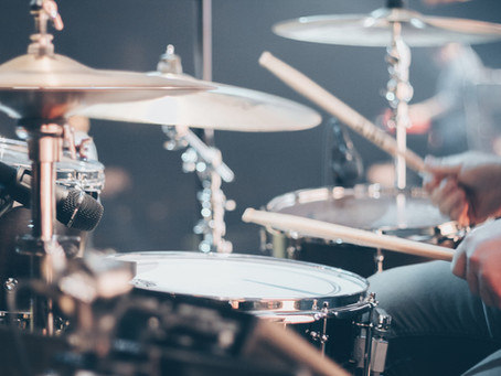 Has the virus affected drum lessons?