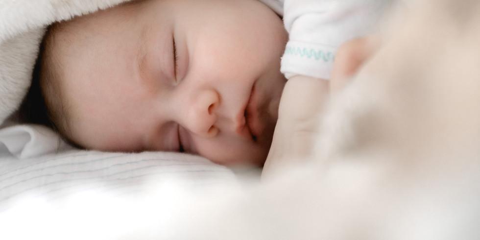 12/10(木)*0歳児さんの睡眠リズムのつくり方講座<オンライン>