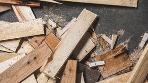 Kaum noch Holz für die Hütten