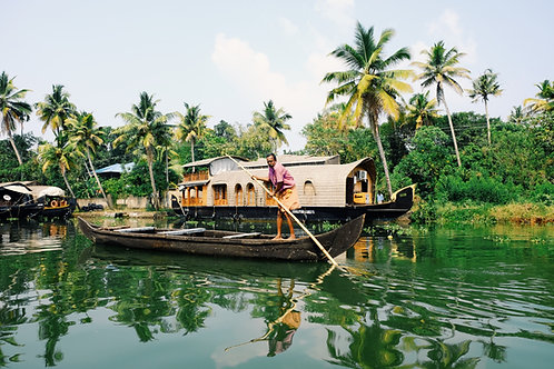 Munnar & Alleppey House Boat