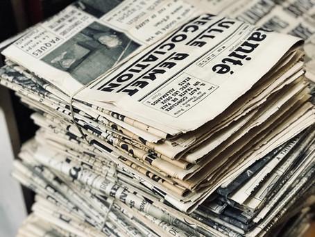 Non si possono più prendere neanche i giornali!