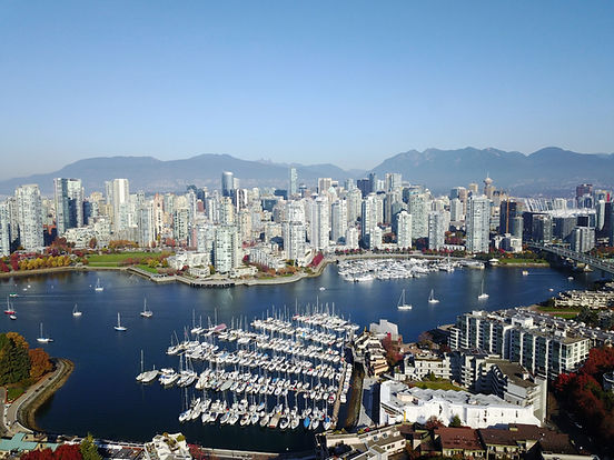 Down town Vancouver BC