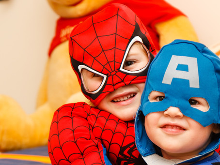 Kids in character are more likely to help around the house
