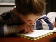 Children with school-anxiety