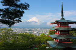 Japan with Mt Fuji