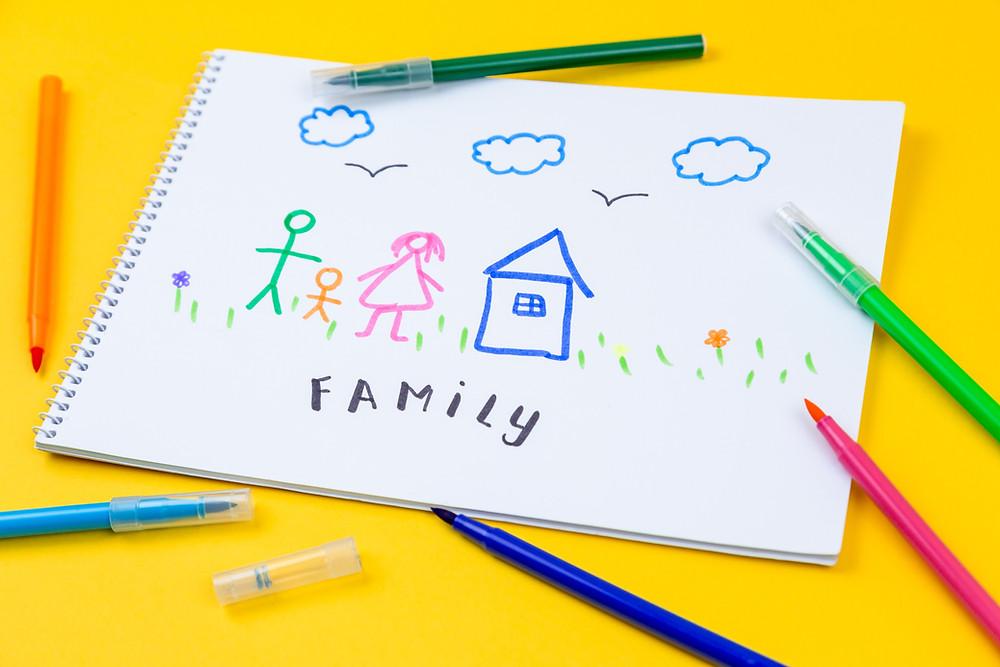 Home, Love, Family by Volodymyr Hryshchenko  @lunarts