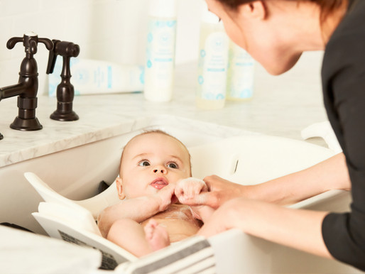 Top 5 Tips For a Stress Free Bathtime
