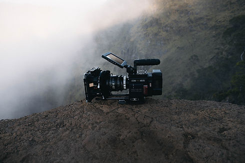 professional videography equipment in North Georgia mountains