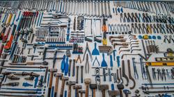 geordnete Werkbank, sauberes Werkzeug,, Image by Cesar Carlevarino Aragon