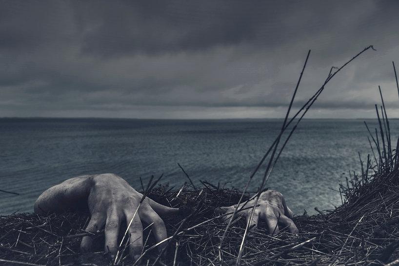 Halloween zombie Image by Daniel Jensen