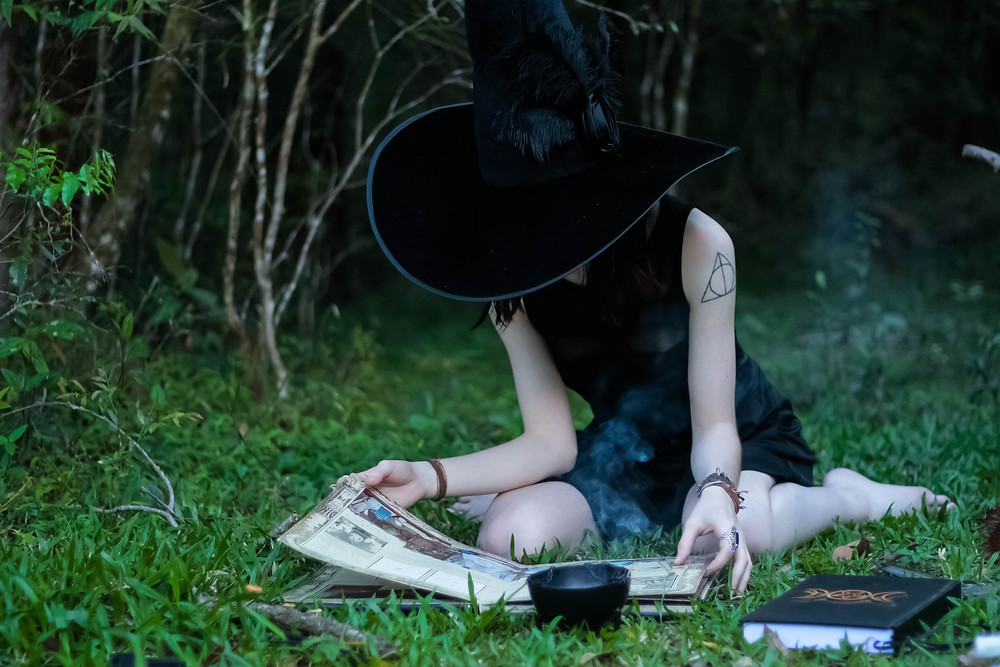 Witches use sigils to create new goals and manifestations in their lives