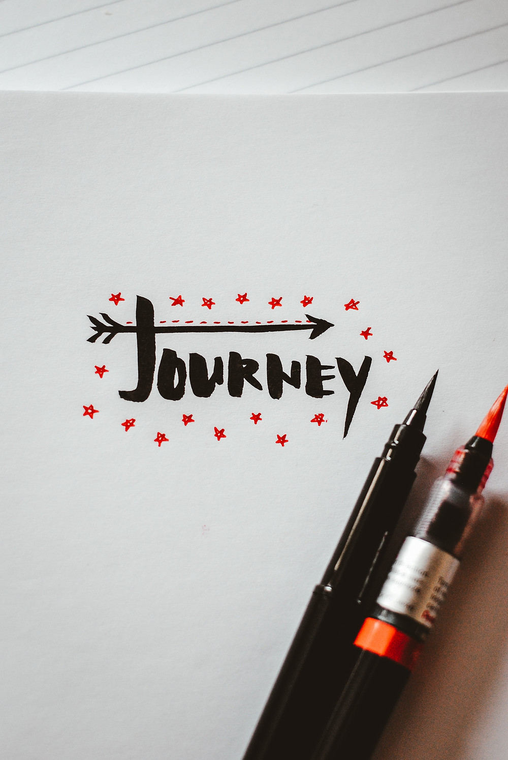 the word journey written out