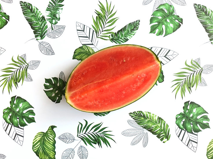 Watermelon (seedless) Quarter Approx 2- 2.5  kg
