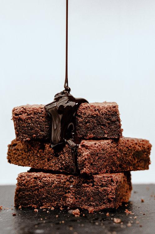 Brownie Sundae with Soft Serve