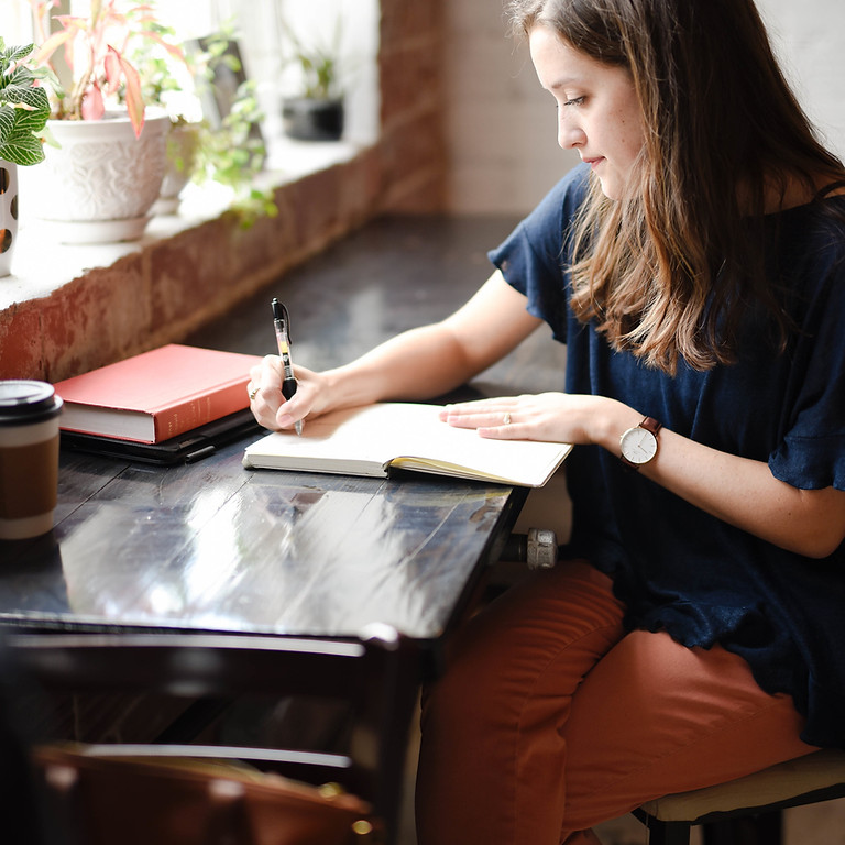 Journaling and meditation for self-care