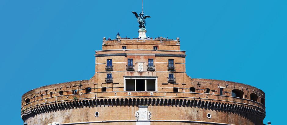 Uma fortaleza em Roma