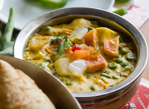Red Thai Salmon and Coconut Curry