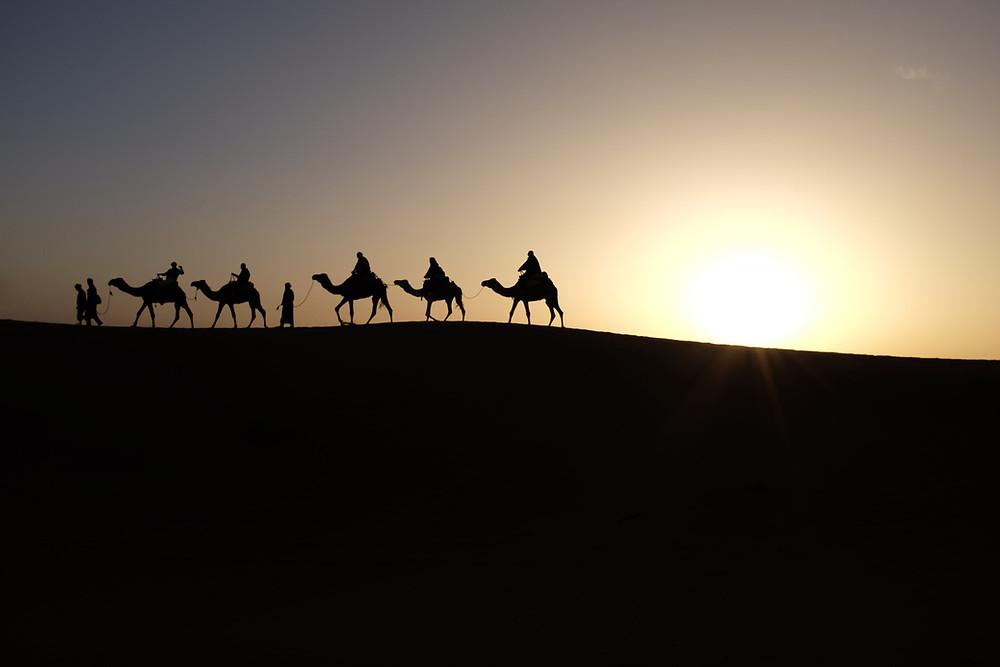 Western Sahara Desert Morocco