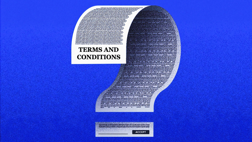 Client Terms & Conditions Template