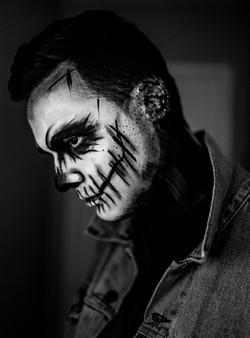 Skull Make-up/ Scary Make-up for Men and Women