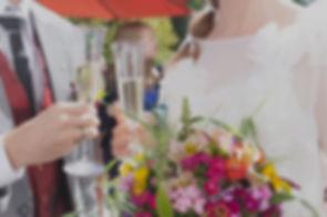 Hochezeit, Agape, Sektempfang, Feier, Hochzeitsfeier, SektImage by Sandra Grünewald