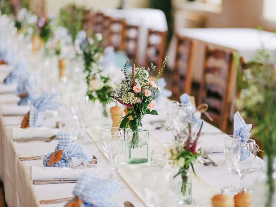 Stunning wedding settings