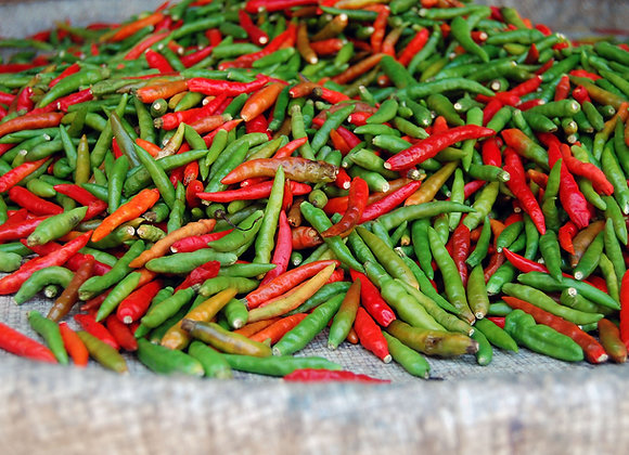 Chillies red/green (per kg)