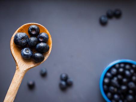Blueberry Lemon Corn Muffins