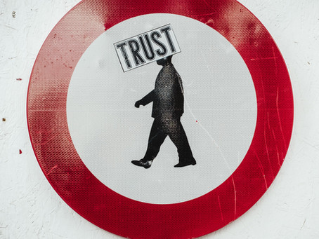 In a world that has lost it's way where do you place your trust?