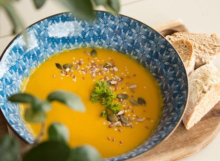 Easy peasy...sweet potato soup recipe