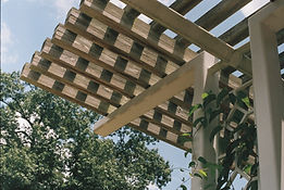 Timber pergola by MLS Contracts