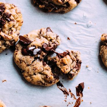 מתכון לעוגיות שיבולת שועל ושוקולד טבעוניות ללא גלוטן