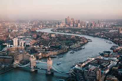 London Tower Bridge Canary Wharf