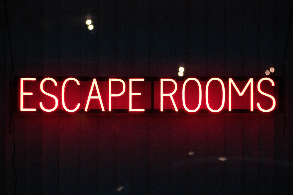 escape room team building event