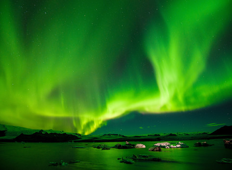 Christmas, New Year's Eve and the Northern Lights in Iceland by Anna Fishman