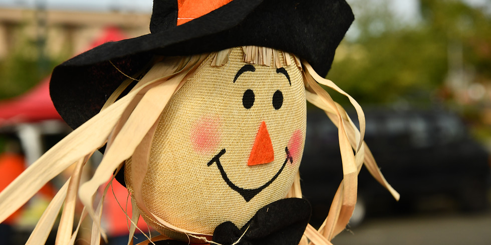 Scarecrow Festival and Pumpkin Glow October 22-23, 2021