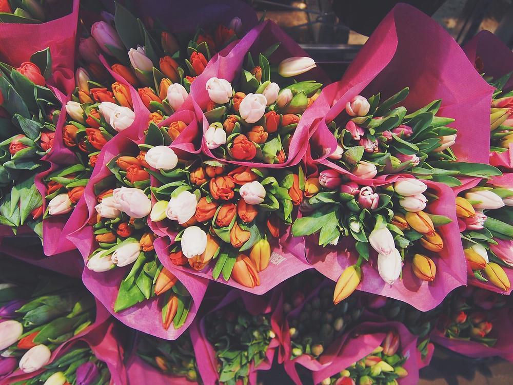 Tulips are Winter Wedding Flowers