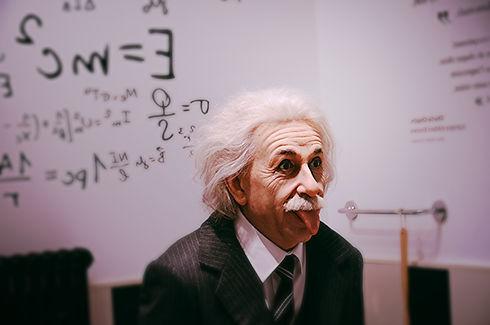 Albert Einstein teoreettinen fyysikko illistää