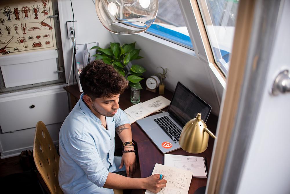 remote internships college student